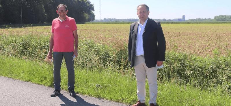 Nouveau site 4G à la Croix-Hellèan pour une meilleure couverture 4G